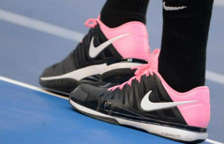 Federer Pink Trainers
