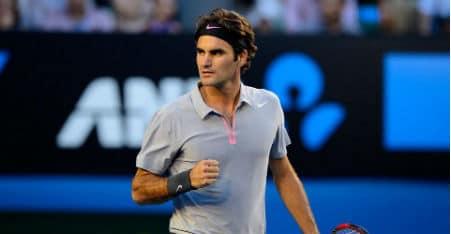 Federer Pumped