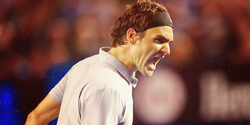 Federer Shows his Mettle