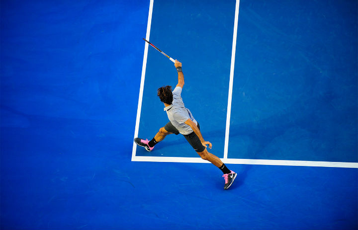 Federer def. Davydenko Australian Open