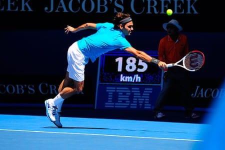 Federer def. Paire Australian Open 1st Round