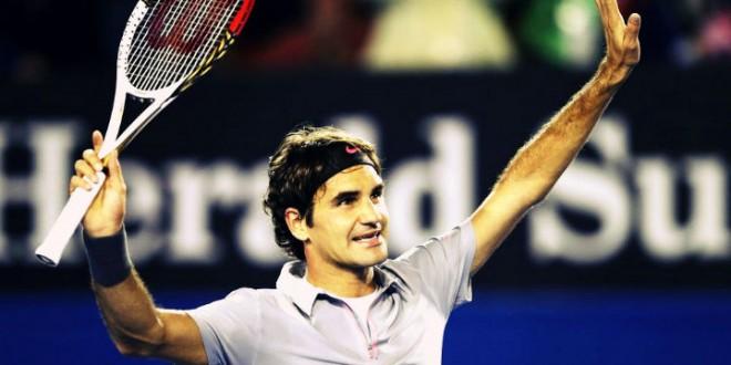 Federer defeats Tomic at Australian Open