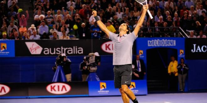 Federer defeats Tsonga Australian Open 2013