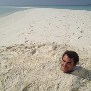 Federer feeling relaxed ahead of Australian Open 2013