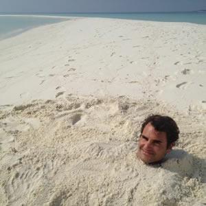 Federer feeling relaxed ahead of Australian Open 2013