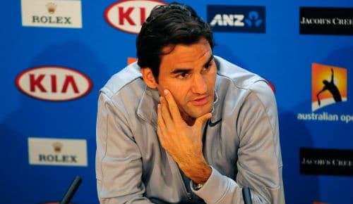 Federer on Doping