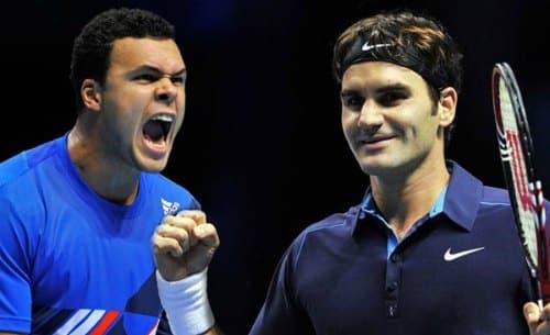 Federer vs. Tsonga