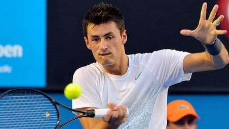 Tomic Forehand