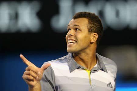 Tsonga Hits Back
