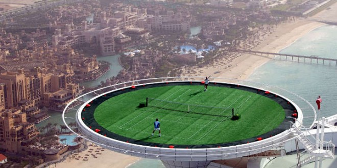 Dubai 2013 Draw - Federer Faces Jaziri
