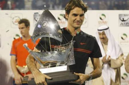 Federer 72nd Title in Dubai 2012