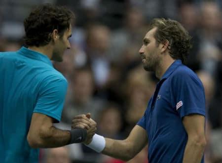 Federer & Benneteau