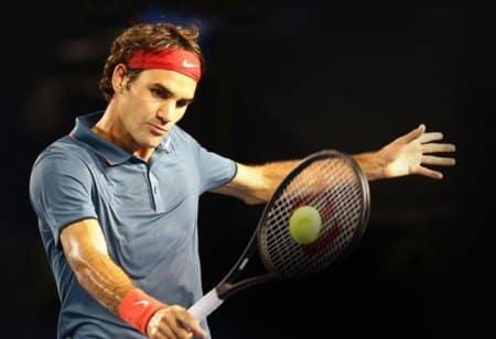 Federer using RF97