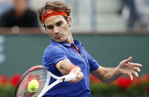 Federer Forehand on Fire