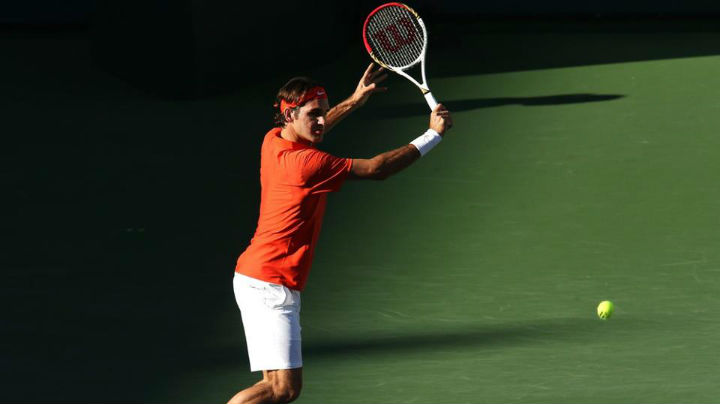 Federer def. Dodig Indian Wells