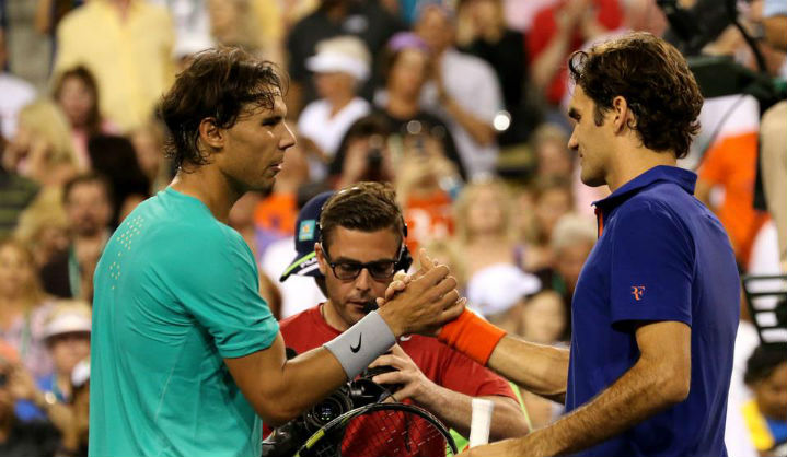 Nadal defeats Federer in Indian Wells