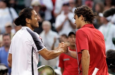 Federer Canas Miami 2007