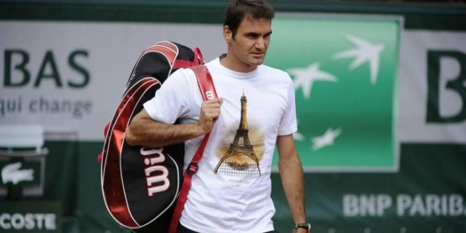 Federer French Open Outfit 2013