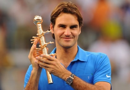 Federer Madrid Win 2012