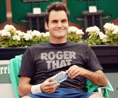 Federer Roland Garros Practice Session 2013