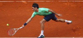 Federer def. Stepanek Madrid 2013