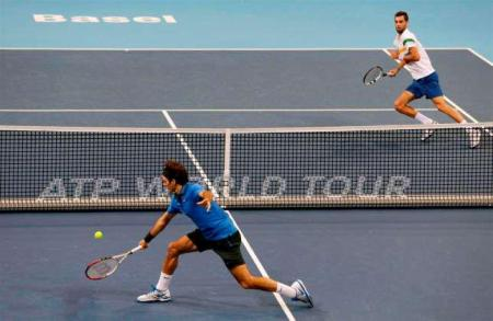 Federer vs. Paire