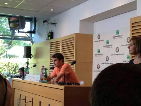 Federer French Open Press Conference