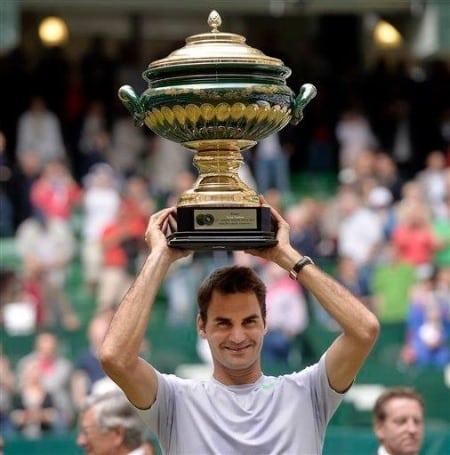 Federer Halle 2013 Trophy