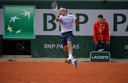 Federer Simon French Open 2013