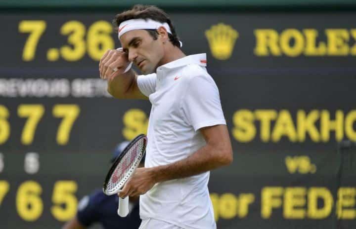 Stakhovsky defeats Federer Wimbledon 2013