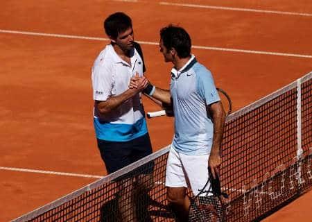 Delbonis beats Federer