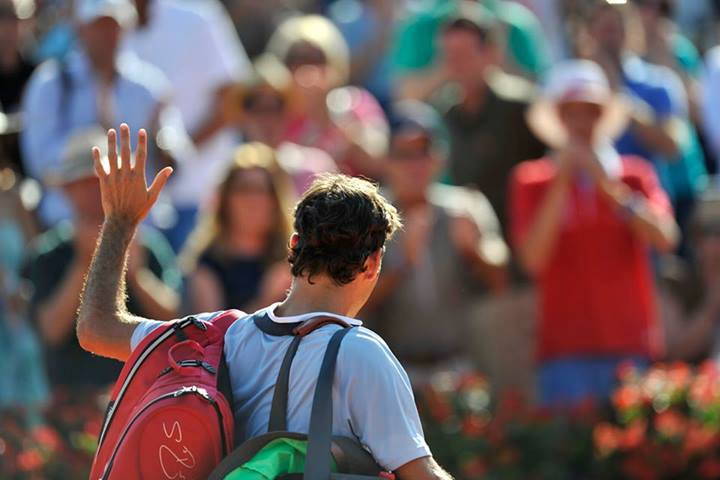 Federer Loses in Gstaad vs. Brands