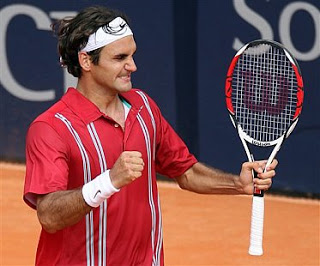 Federer Wins Hamburg