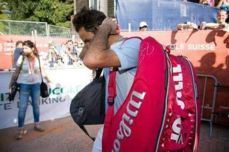 Frustrated Federer