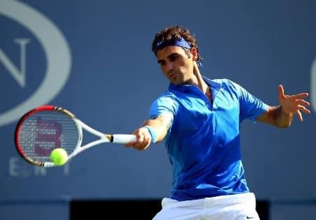 Federer Forehand US Open 2013