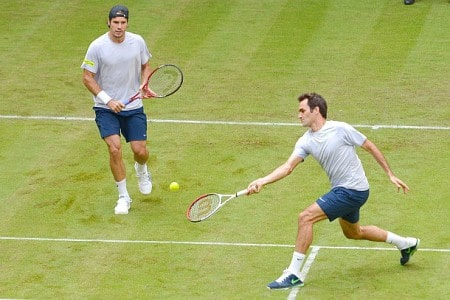 Federer Haas in Halle