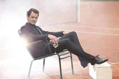 Federer Moet & Chandon