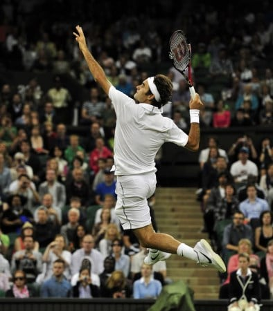 Federer Slam Dunk vs Mannarino