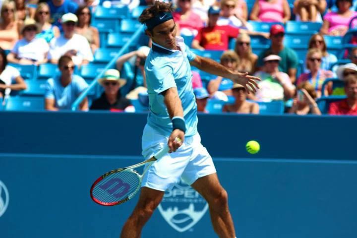 Federer defeat Haas Cincinnati