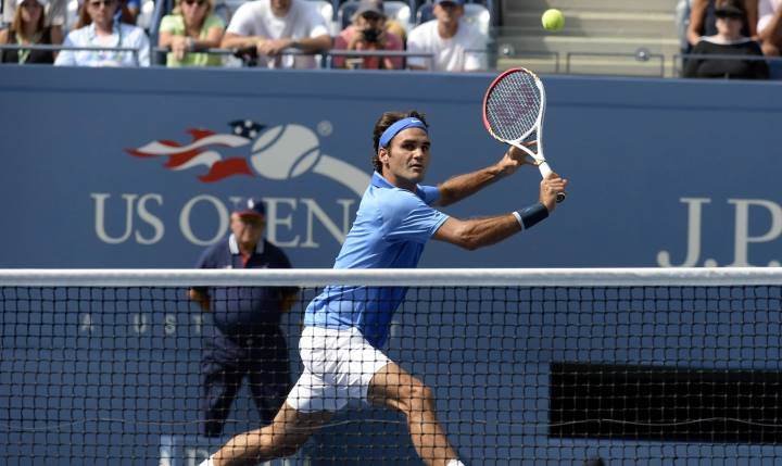 Federer defeats Berlocq US Open