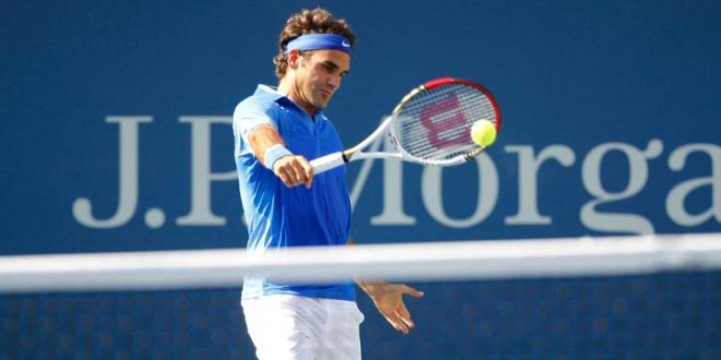 Federer defeats Zemlja US Open 2013