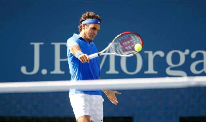 Federer defeats Zemlja US Open 2013