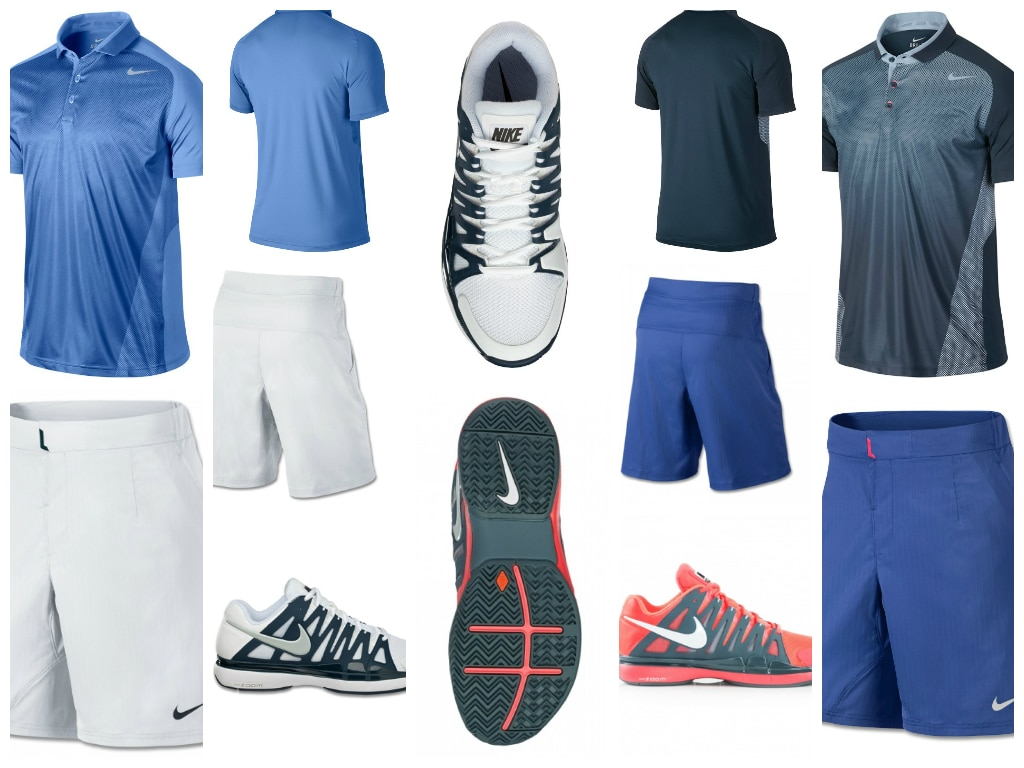 Federr US Open Outfit Montage
