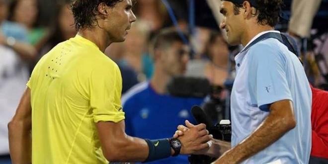 Nadal defeats Federer Cincinnati