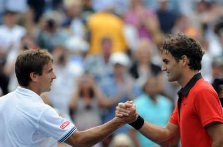 Federer Robredo US Open 2009