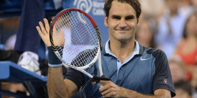 Federer Sweeps Aside Adrian Mannarino US Open