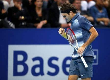 Del Potro defeats Fed in Basel