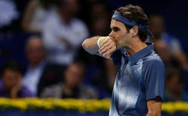 Del Potro defeats Federer Basel 2013