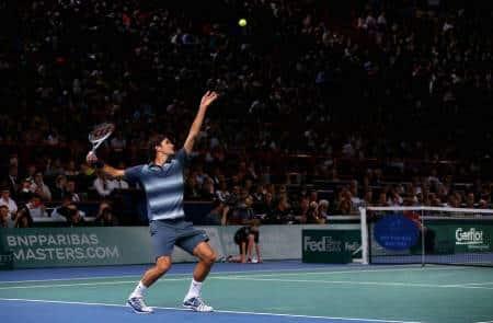 Federer Kohlschreiber Bercy 2013