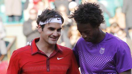 Federer Monfils FO 2011